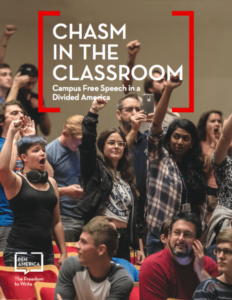 Chasm in the Classroom: Campus Free Speech in a Divided America